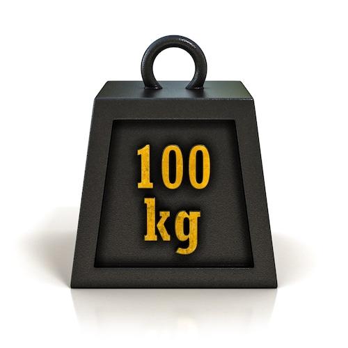 耐荷重|100kg~200kgまで対応できると安心