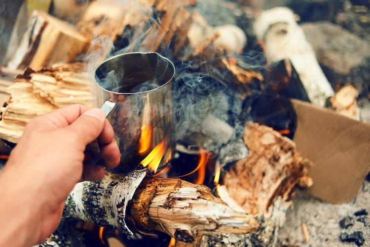 ▼直火OK|大きめサイズは調理にも使えて便利