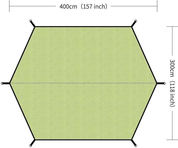 サイズ|ソロや少人数は4×4mが目安、ファミリー向けであれば大型を