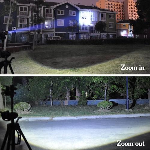 照射エリア|ワイドに照らせるものなら周辺の安全確認に便利