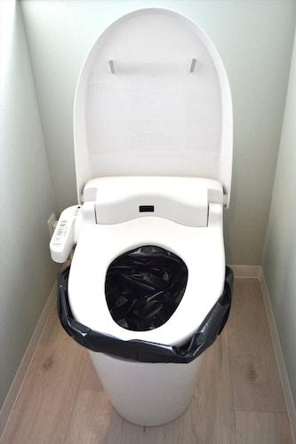 【便器にセットタイプ】断水した場合でもいつものトイレを使える