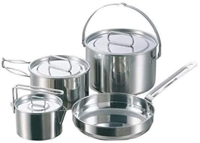 ▼セット|ソロ用からファミリー用まで!幅広い調理が可能