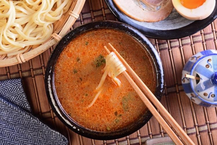 2|つけ麺風にして食べるアレンジ