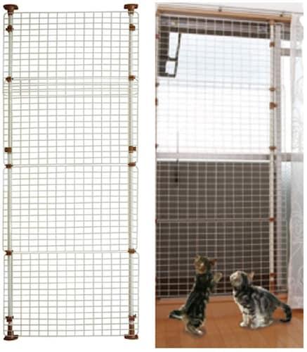 高さ 玄関や窓からの脱走防止なら1.7m以上のものが安心!
