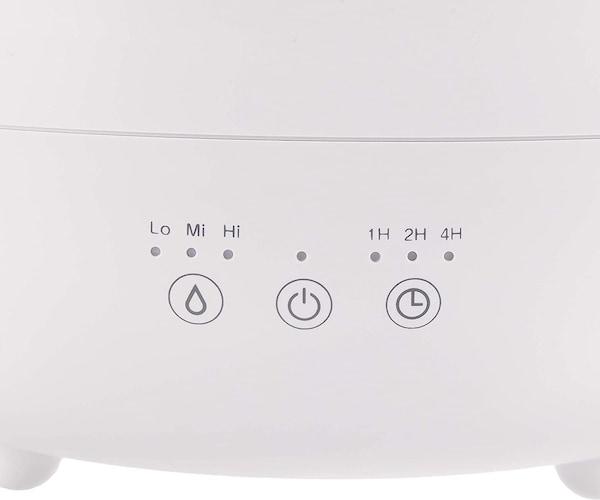 機能|タイマー機能付きや湿度量調節機能で、就寝中も安心
