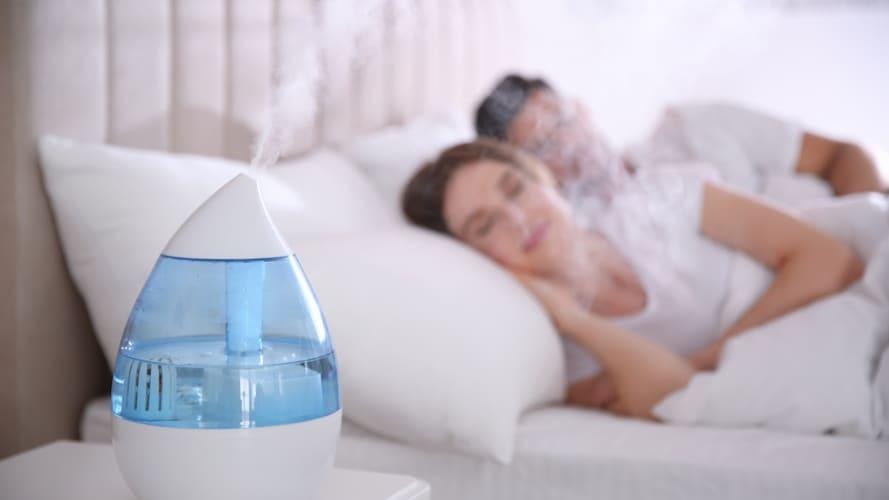 寝室用加湿器の置き場所