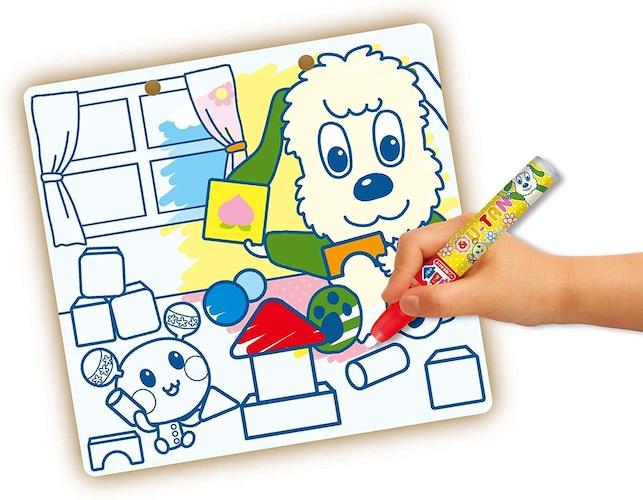 ◼︎1歳前後の幼児は水塗り絵がおすすめ