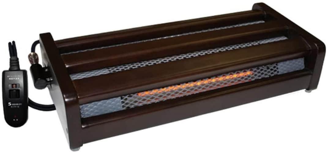メトロ|木枠のフットヒーターが人気