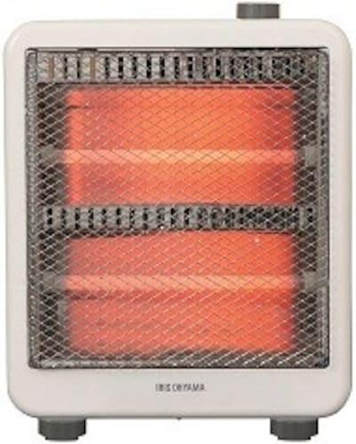 ハロゲンヒーター|素早く、局所的に暖めてくれるタイプ!本体価格も安い