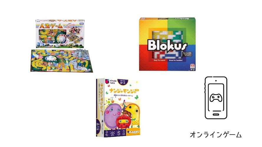 種類|すごろく系・カード系・盤系・ウェブ系の4タイプから選ぶ