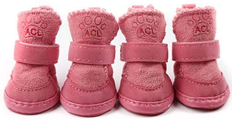 【冬】寒さから肉球を守るためには保温性の高いブーツを