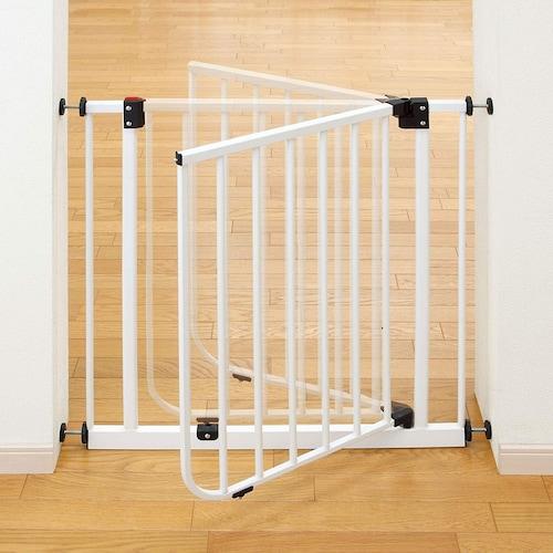 ◆柵タイプ:一般的なベビーゲート、使い勝手の良さが魅力