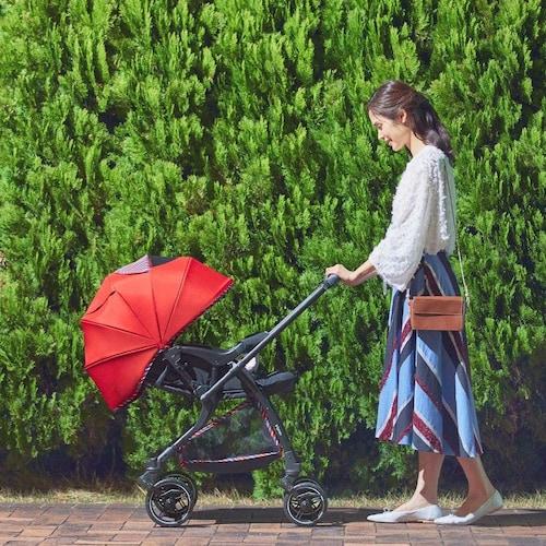 A型ベビーカー|新生児期(生後1か月)を過ぎた頃からOK