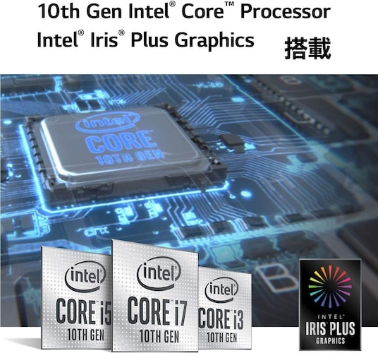 CPU|「Core i3」が基本!ハードに使いたい方は「Core i5」以上が◎