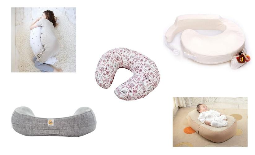 授乳クッションの選び方~種類、厚み、硬さなどがポイント~