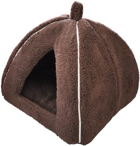 ●秋・冬用に!小型犬にもピッタリな「ドーム型」