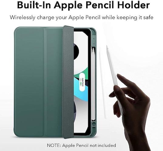 収納力|Apple Pencilを使用する方はペンホルダー必須