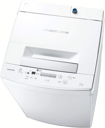 2. TOSHIBA(東芝)|低振動や静音設計で騒音を気にせず静かに洗濯できる