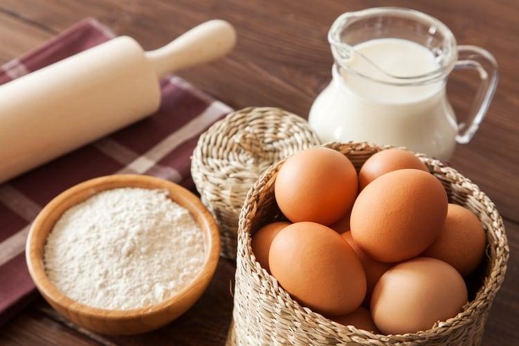 ・アレルギーがある方は小麦粉、卵、牛乳が使用されていないものを