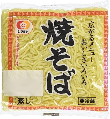 蒸し麺|コシがあり王道のソース焼きそばに合う!