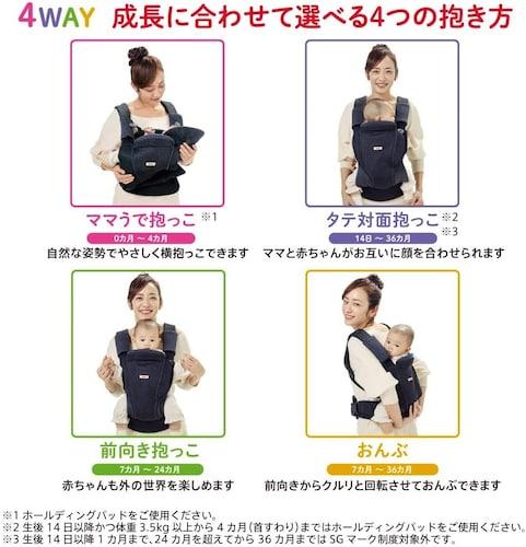 抱き方 縦抱っこ、横抱っこなど5パターン!おんぶ紐兼用で使えるものも