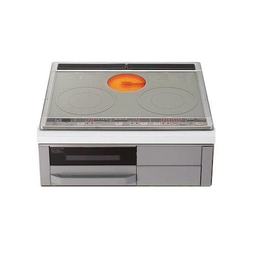 【ラジエントヒーター】ヒーター自体が発熱するため炙り料理が可能