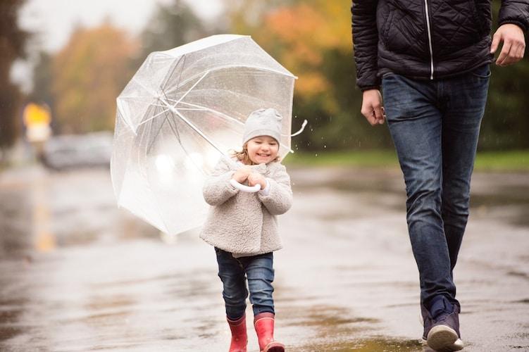 防水タイプ|雨の日も安心!チャックつきならさらに濡れにくい