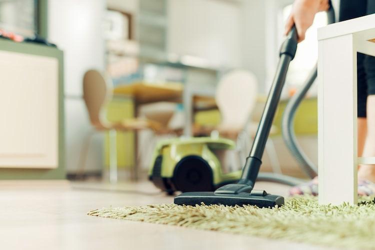 掃除機をかける頻度は?