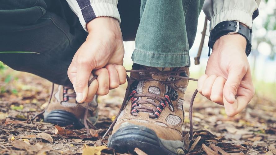 サイズと重さ|つま先に余裕のあるシューズで靴擦れ防止