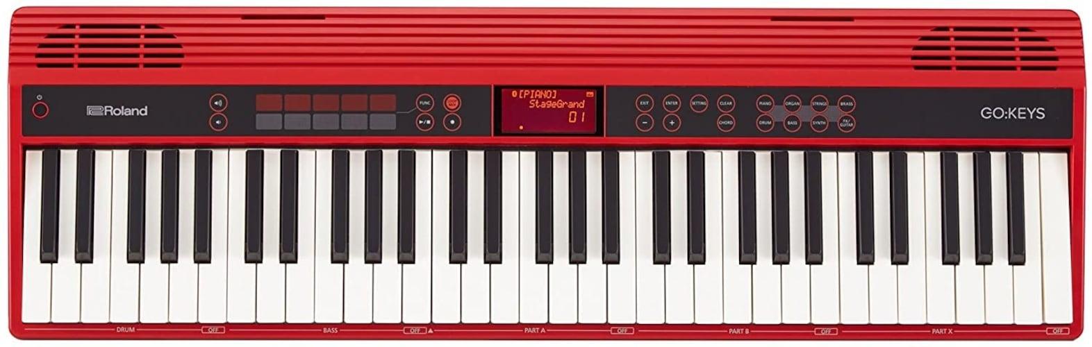 ▼61鍵盤:幅広い用途に対応