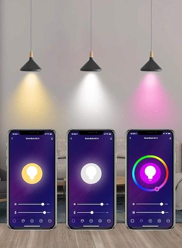 音楽を流したり、光が連動するスピーカー機能