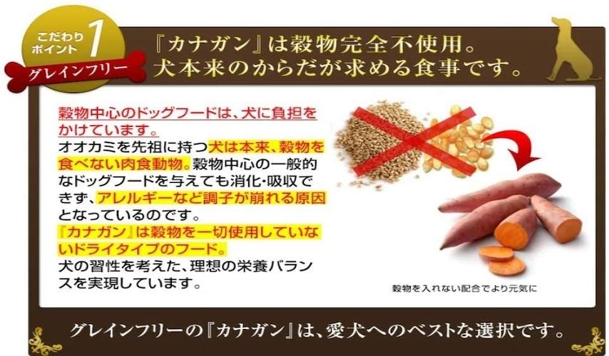 2.穀物不使用のグレインフリー