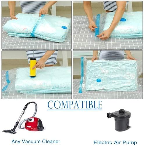 布団圧縮袋の使い方
