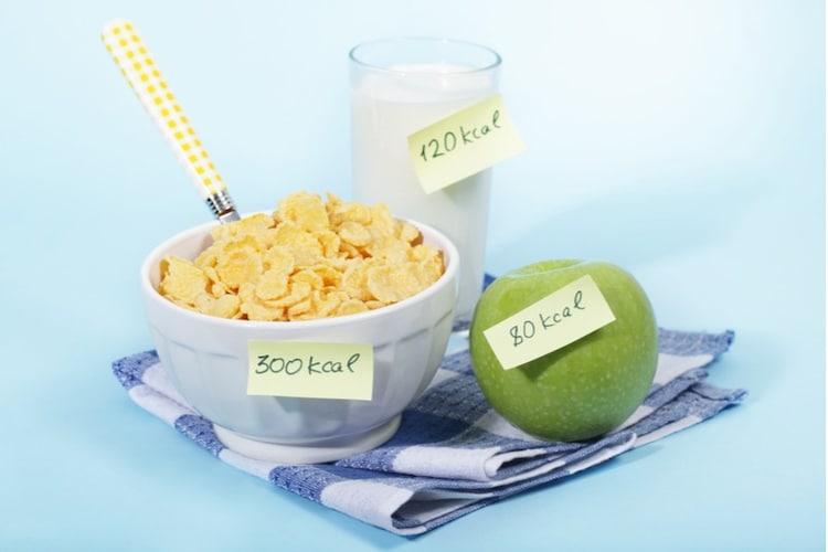 カロリー|一日の消費量とのバランスが合ったものを!