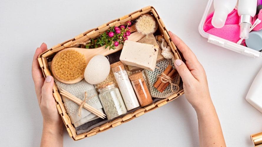 美容液のプレゼントボックス