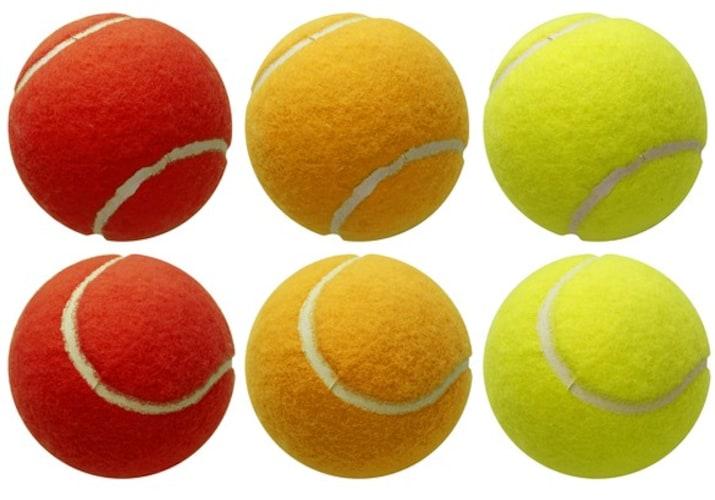 色付きのボールでコントロールを確認