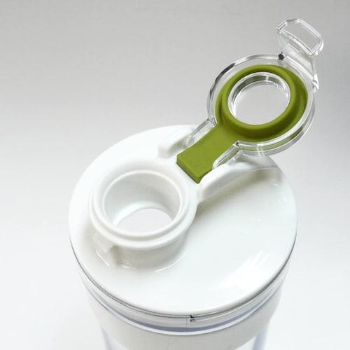 ▼ワンプッシュ式の注ぎ口や傾けるだけで蓋が開くタイプが便利