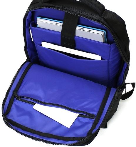 ポケット|内側に多く付いたものの方が荷物を収納しやすい