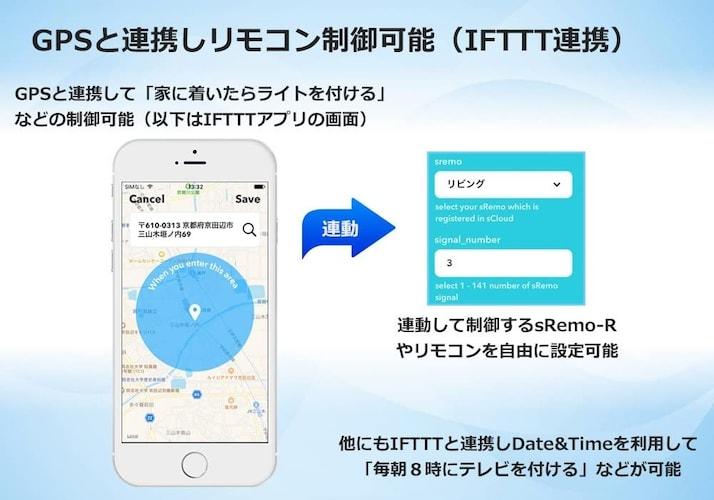 ▼マクロ機能・IFTTT対応