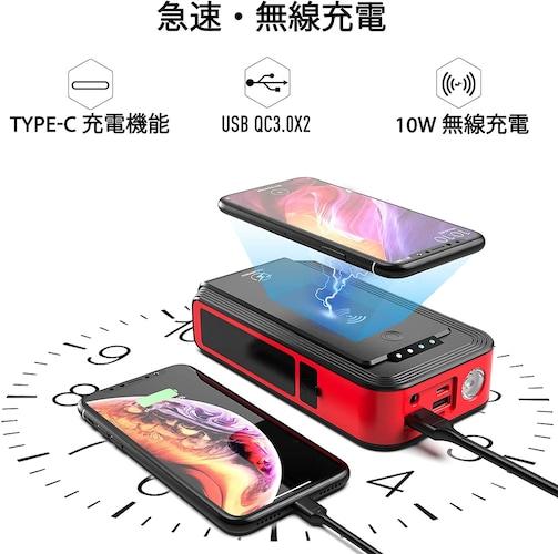 ★モバイルバッテリーやLEDライトとして使用できるものも!
