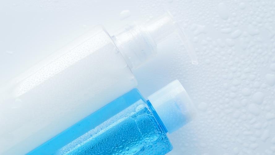 化粧水の容器