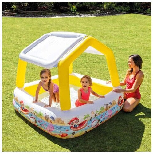 遊具・屋根付き|水遊びの幅が広がる