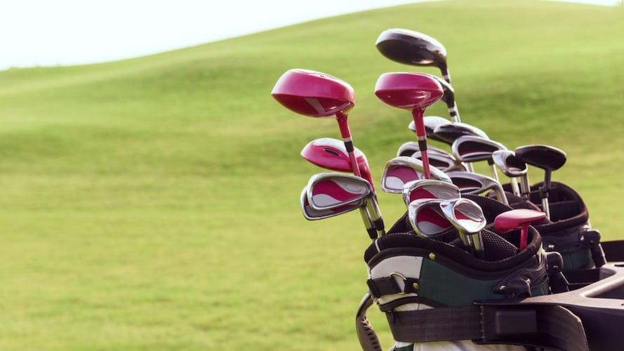 ゴルフクラブセットの画像