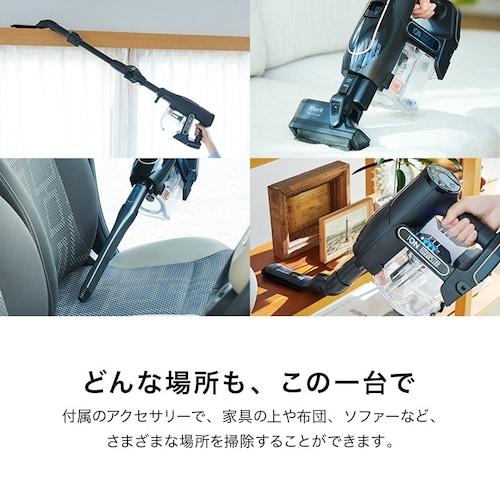 アタッチメント|豊富な付属品で幅広いお掃除が可能に!