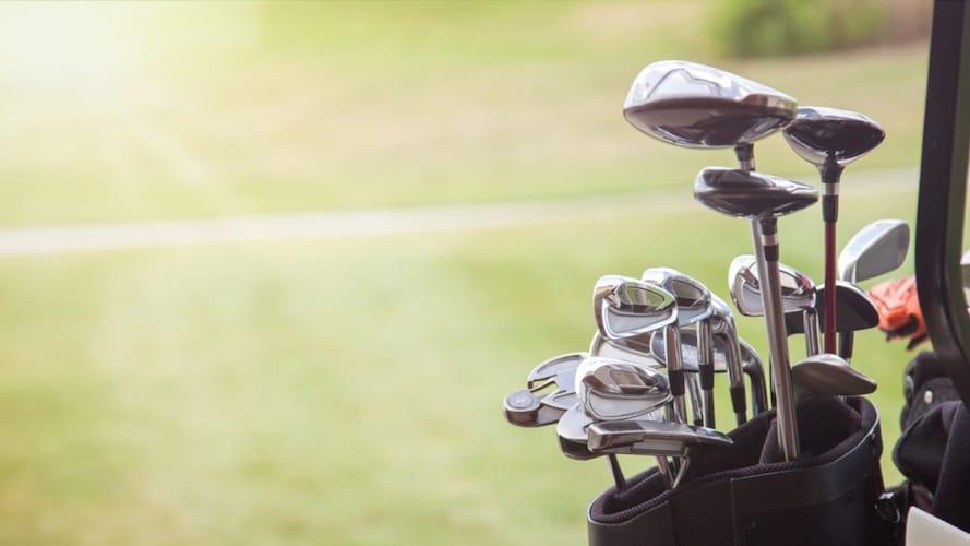 ★ゴルフクラブの入れ方もチェック!