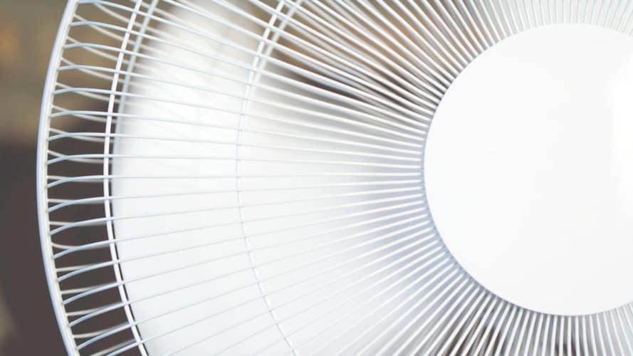 扇風機ファンの画像