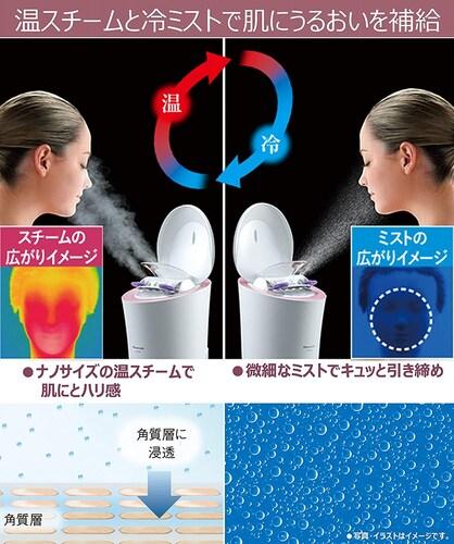 温冷モード|毛穴を引き締めてお肌を整える