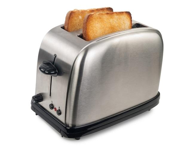 ▼ポップアップトースター:トースト専用で省スペースにおすすめ