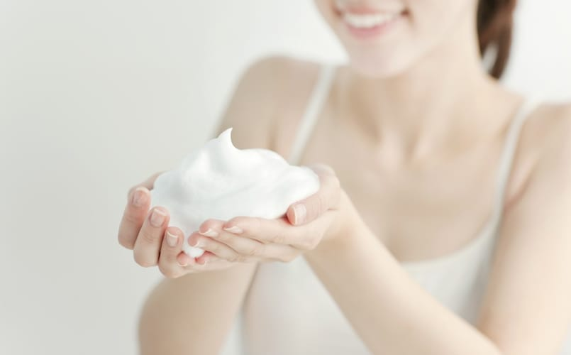 泡立ち|濃密な泡なら肌に負担が少ない