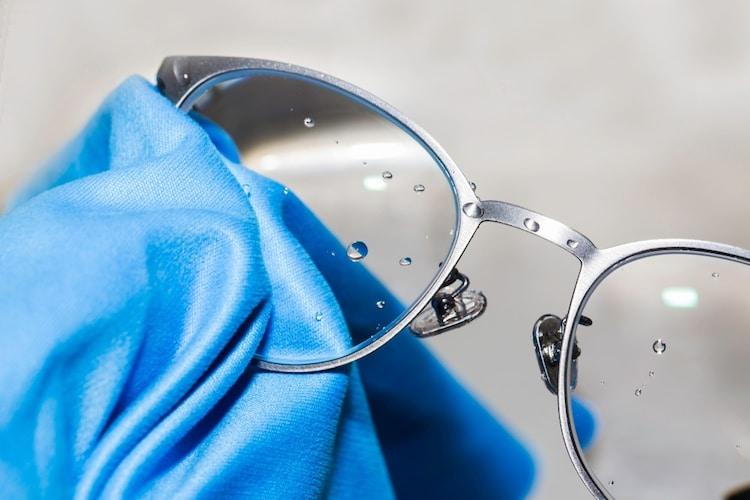 メガネ用曇り止めの効果的な使い方